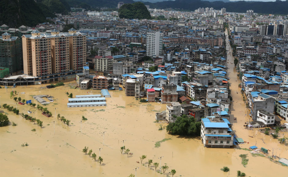Floods in China due to heavy rains wreak havoc; over 50 people killed