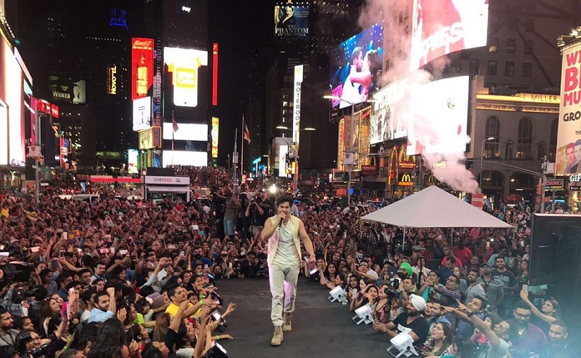 Bollywood Stars Take Over Times Square Ahead Of IIFA