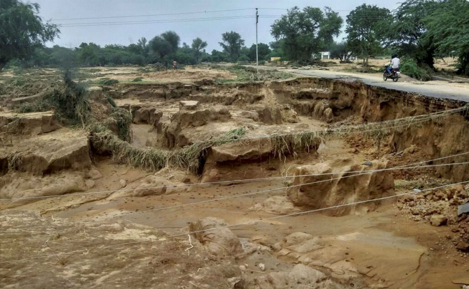 Army steps in for rescue operations as rains continue to ravage Gujarat, Rajasthan
