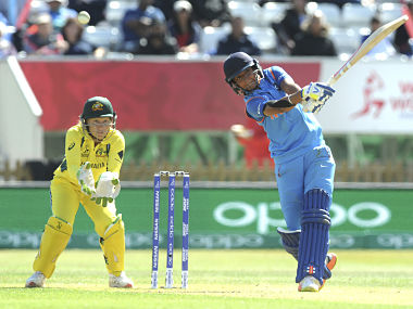 England will look to keep India's Harmanpreet Kaur quiet in the final. AP