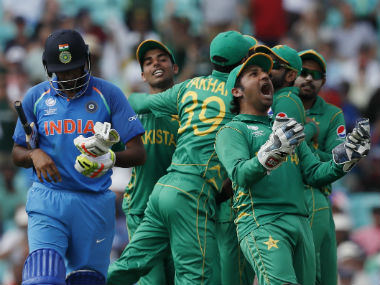 India capitulated to a paltry 158 in response to Pakistan's 338/4 in the Champions Trophy 2017 final. AP