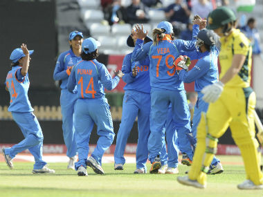 India defeated defending champions by 36 runs to enter the final of the ICC Women's World Cup 2017. AP