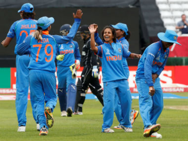 ICC Women's World Cup 2017: Mithali Raj, Rajeshwari Gayakwad shine as India crush New Zealand, storm into semis