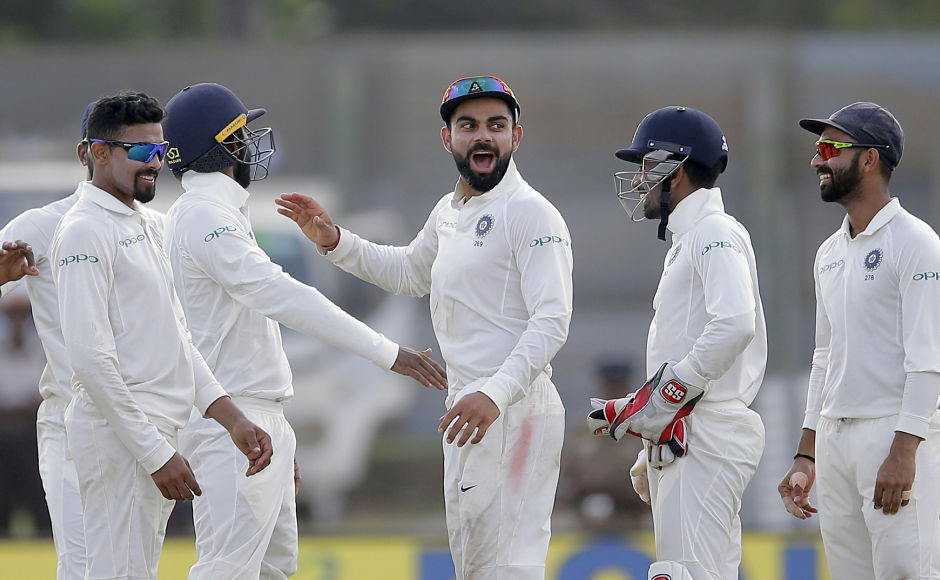 Mohammed Shami, R Ashwin leave Sri Lanka teetering at 154/5 on Day 2 to maintain control in 1st Test