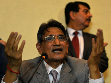 File image of Justice RM Lodha. AFP