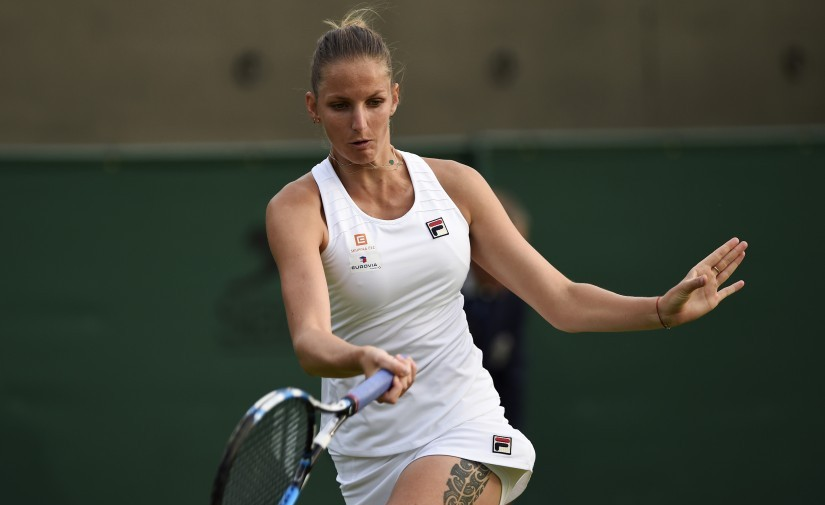 Wimbledon 2017 Karolina Pliskova Simona Haleps shot at No 1 adds spice to wide open womens draw