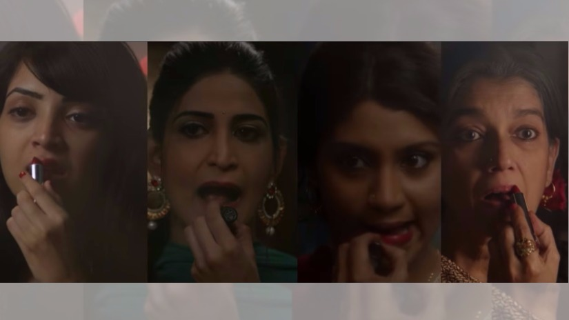 The women of Lipstick Under My Burkha. YouTube screengrab