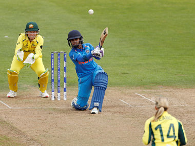 Mithali Raj in action against Australia in Women's World Cup. Reuters