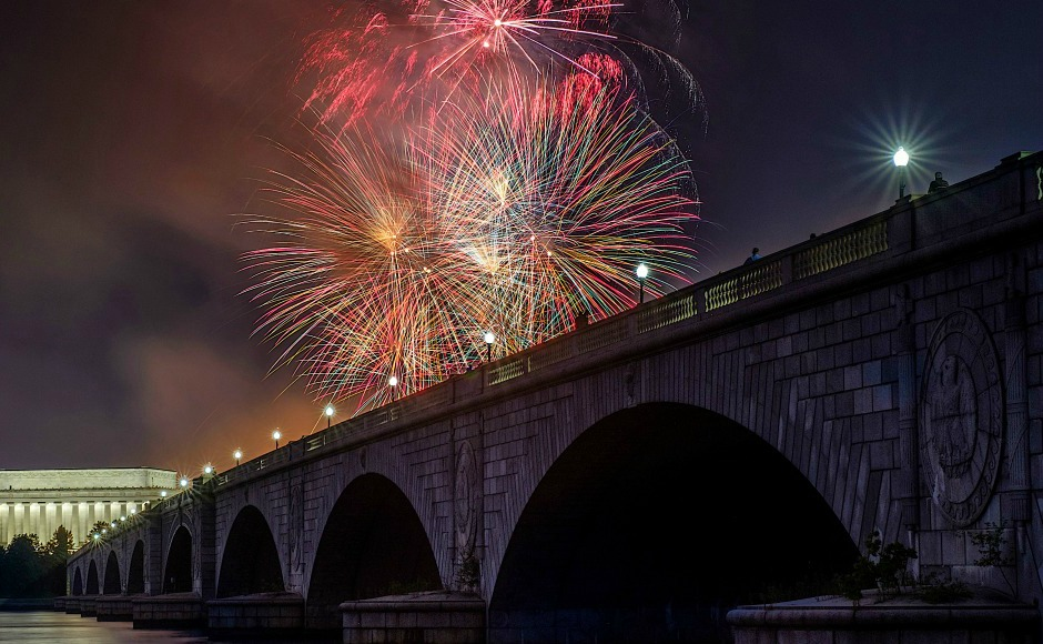 Happy Fourth Of July: How Americans celebrated their 241st Independence Day