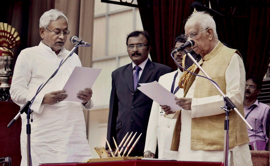 Nitish Kumar sworn in as Chief Minister of Bihar for sixth time in 12 years