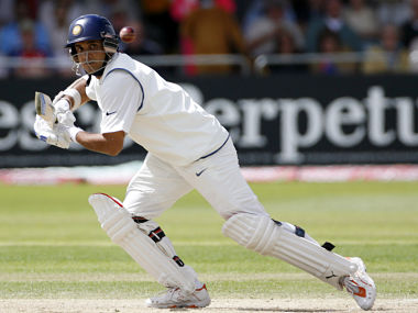 India's Sourav Ganguly plays a shot against England during the third day of their second test cricket match at Trent Bridge in Nottingham, central England, July 29, 2007. REUTERS/Darren Staples (BRITAIN) - RTR1SCR0