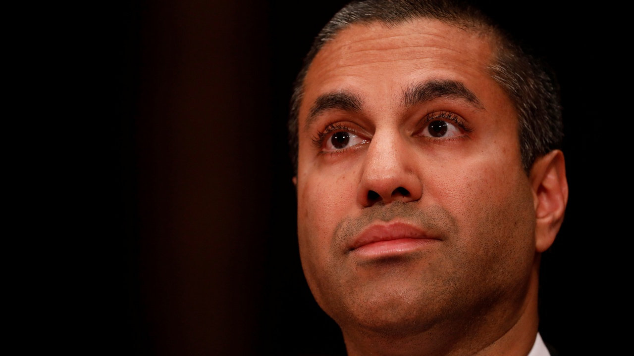 Ajit Pai, Chairman of the Federal Communications Commission Image: Reuters