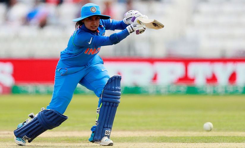 Cricket - Sri Lanka vs India - Women's Cricket World Cup - Derby, Britain - July 5, 2017 India's Mithali Raj in action Action Images via Reuters/Jason Cairnduff - RTX3A453