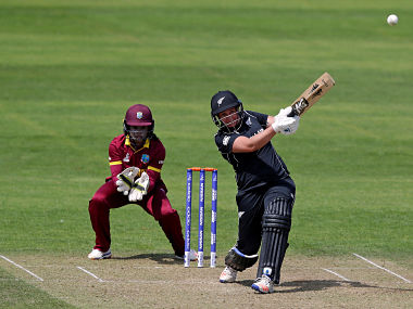 New Zealand's Rachel Priest struck a total of 17 fours and two sixes in her innings. AP