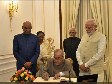 Ram Nath Kovind is 14th President of India Pranab Mukherjee bows out of public life