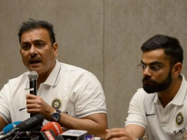 Ravi Shastri as India's head coach cannot always be seen as playing along with captain Virat Kohli