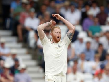 Cricket - England vs South Africa - Second Test - Nottingham, Britain - July 16, 2017 England's Ben Stokes reacts Action Images via Reuters/Carl Recine - RTX3BNCV