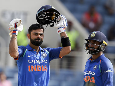 India vs West Indies 5th ODI: Virat Kohli reposes faith in MS Dhoni's abilities after clinching series