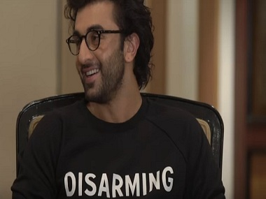 Ranbir Kapoor in a still from AIB Podcast. YouTube