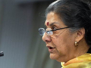 Ambika Soni resigns as incharge of Uttarakhand and Himachal Pradesh cites health reasons