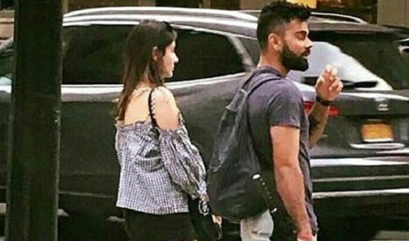 Away from cricket, Kohli enjoys his time in US — COUPLE TIME