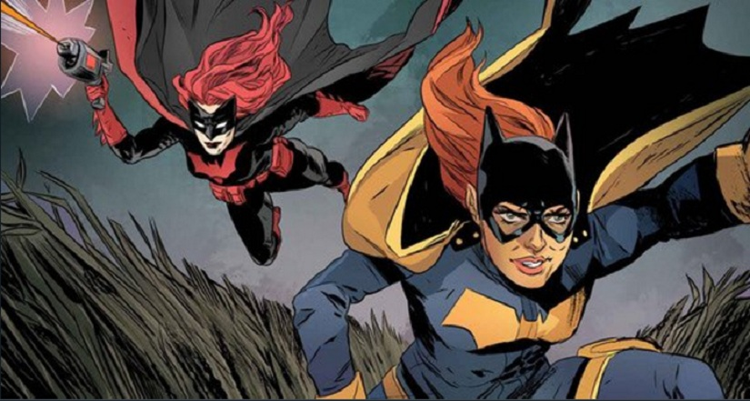 Batwoman and Batgirl. Image from Twitter.