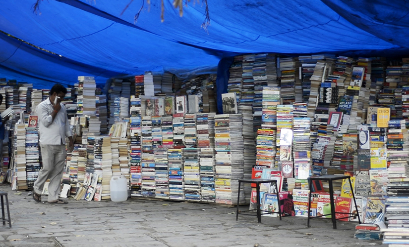 Watch In search of books at Mumbais Flora Fountain