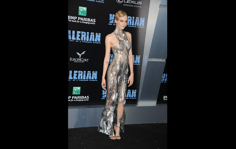 Valerian and the City of a Thousand Planets: Cara Delevingne, Rihanna stun at premiere of sci-fi film