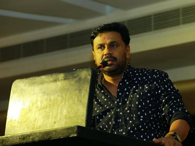 Malayalam actor Dileep. Image from Facebook