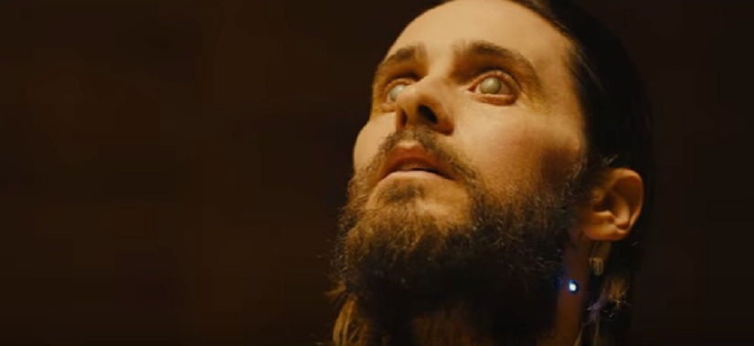 Jared Leto stars as Neander Wallace.
