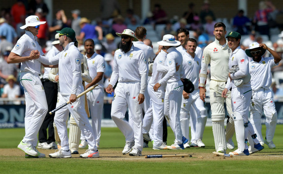 South Africa thrash England by 340 runs to square Test series at Trent Bridge