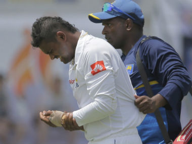 India vs Sri Lanka, 1st Test: Asela Gunaratne ruled out of the series after breaking thumb on Day 1