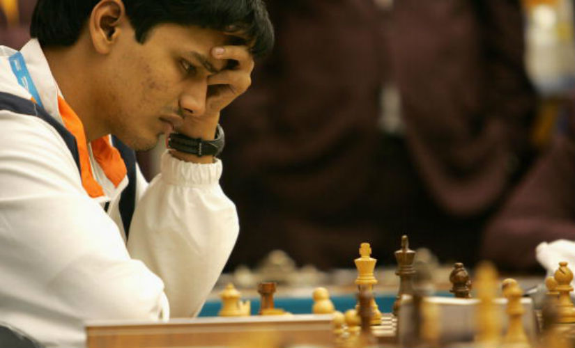 Geneva FIDE Grand Prix P Harikrishna beats Alexander Riazantsev after 84move grind in round one
