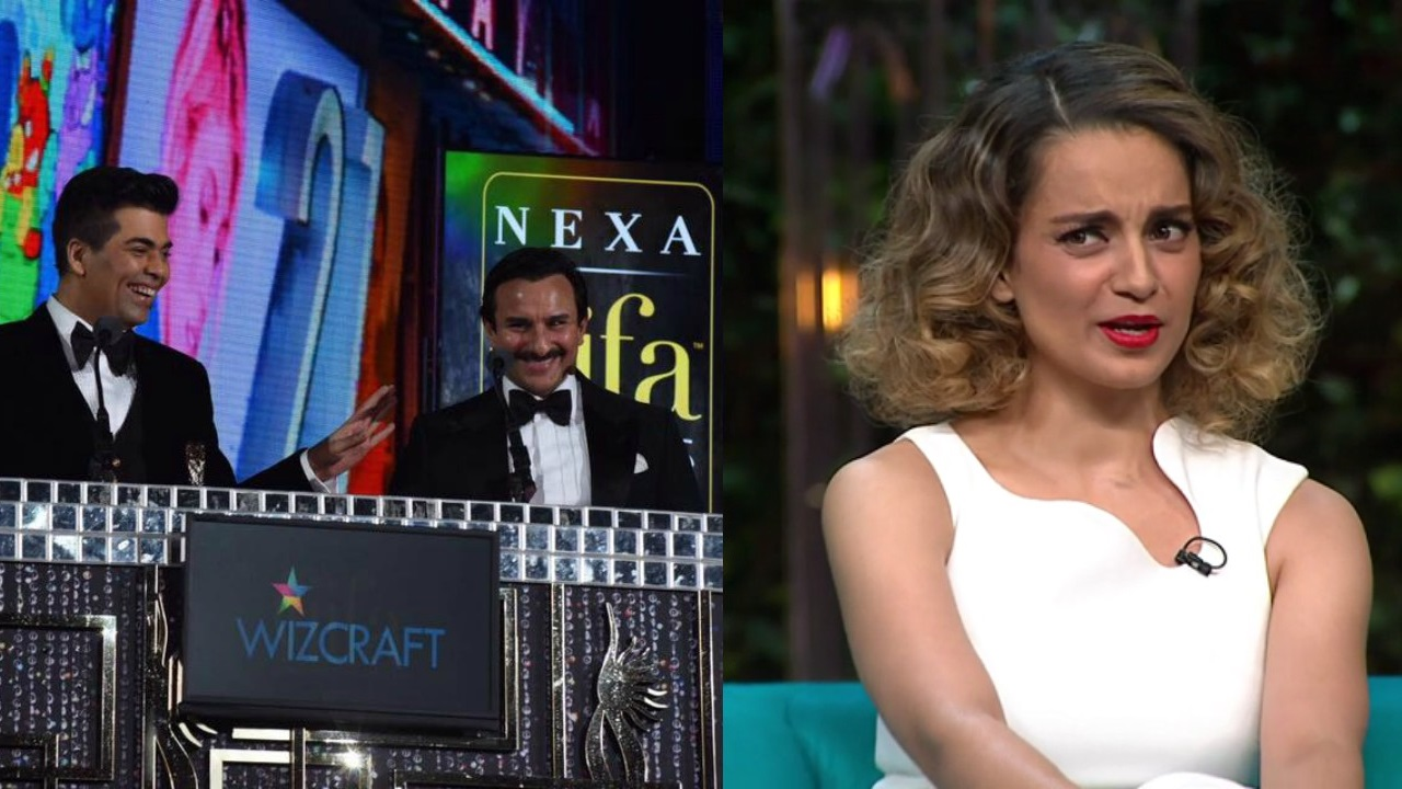 Why does Karan Johar react to anything Kangana Ranaut-related like a jilted lover?