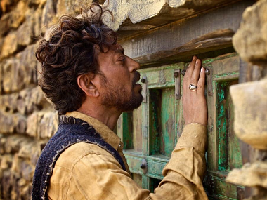 Irrfan Khan in a still from The Song Of Scorpions. Image from Twitter.