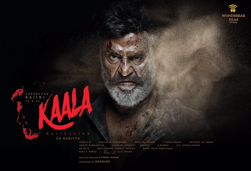 Kaala 15second scene from Rajinikanths forthcoming gangster drama leaked online
