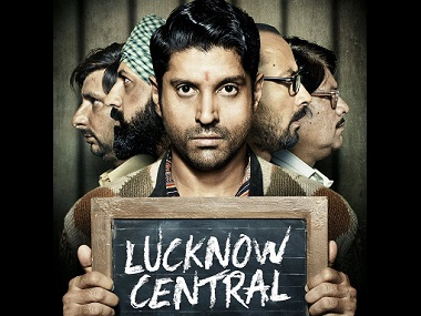 The poster of Lucknow Central. Image from Twitter
