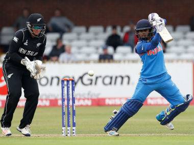 Indian captain Mithali Raj bats against New Zealand in the Women's World Cup 2017. Reuters