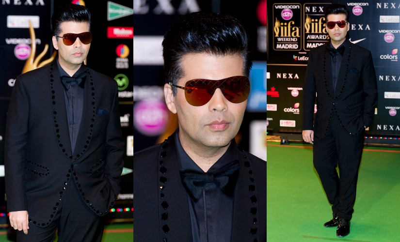 Karan Johar. Images from Getty Images.