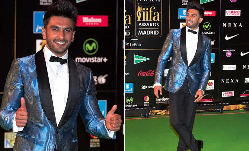Ranveer Singh. Images from Getty Images.