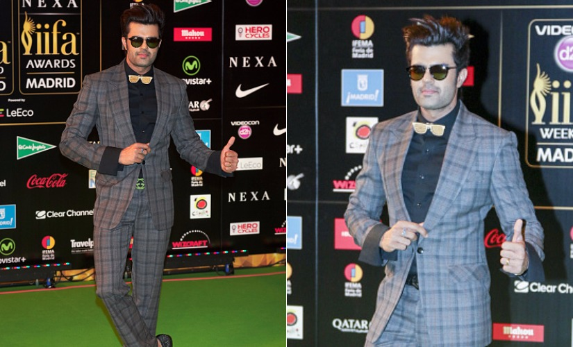 Manish Paul. Images from Getty Images.