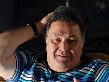 MUMBAI, INDIA - APRIL 3: Bollywood actor Rishi Kapoor poses for an exclusive HT shoot at his residence Banglo Krishna, Pali Hill, Bandra on April 3, 2013 in Mumbai, India. (Photo by Prodip Guha/Hindustan Times via Getty Images)