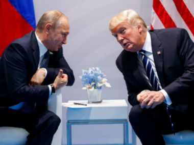 Donald Trump speaks to Vladimir Putin, thanks Russian president for acknowledging strong US economy