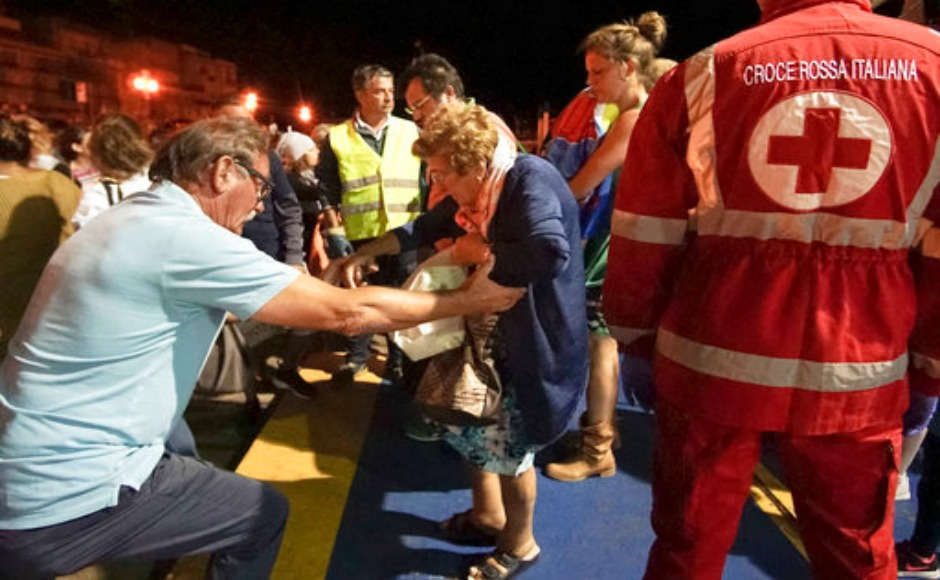 Italy rattled by 3.6 magnitude earthquake; two dead, 39 injured on Ischia island
