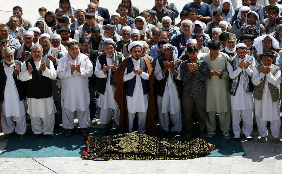 Kabul in mourning as suicide attack on mosque kills 28