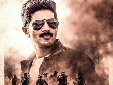 Dulquer Salmaan in a poster for Solo. Image from Facebook