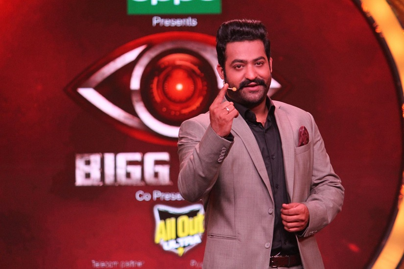 Jr NTR on Bigg Boss Telugu. Image from Facebook