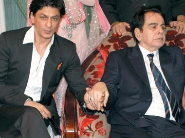 How Dilip Kumar and Shah Rukh Khan's camaraderie goes way beyond photo opportunities