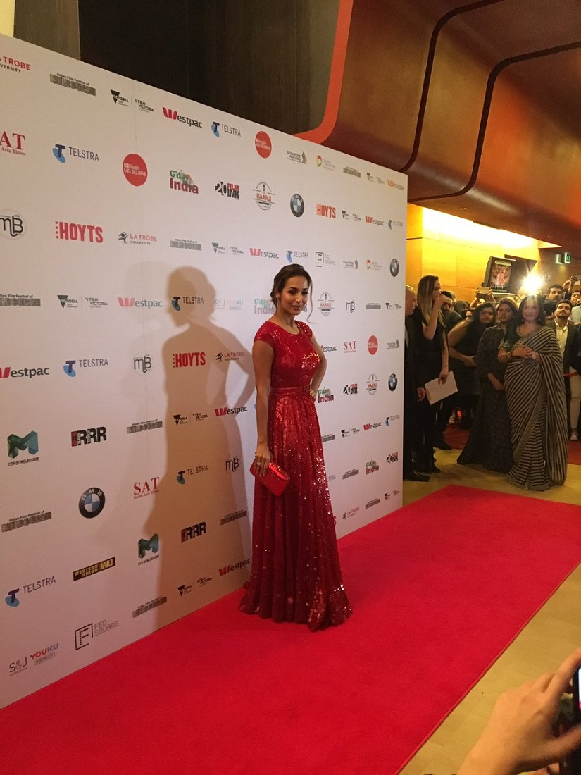 The Indian Film Festival of Melbourne also saw Malaika Arora in attendance,