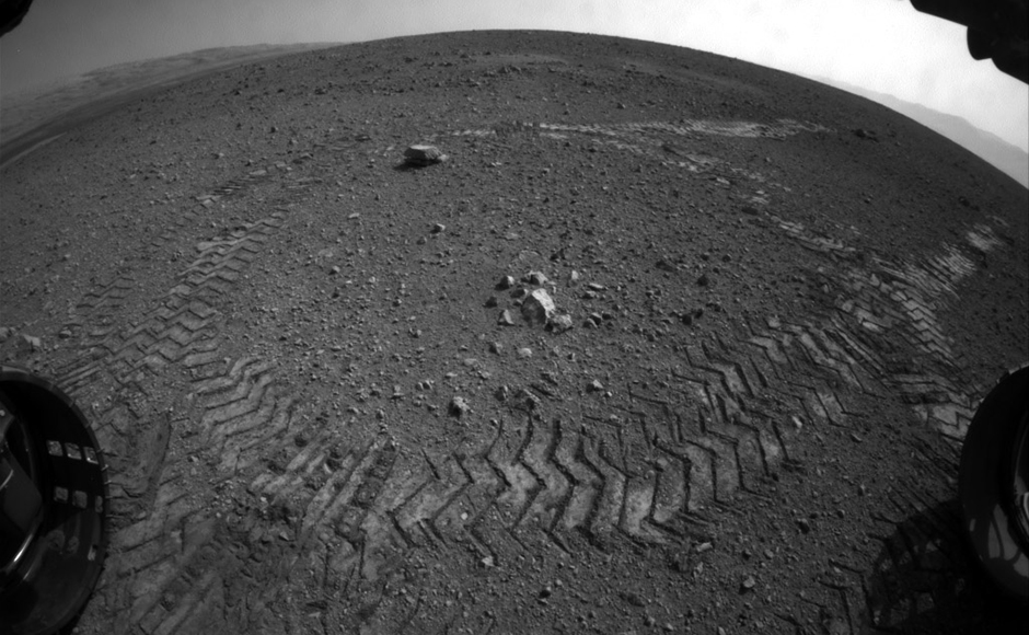 Five years of NASA's Curiosity rover exploring Mars in pictures